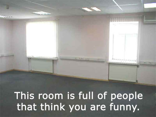this is a room full of people funny
