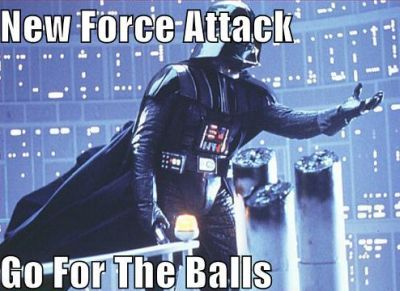 New force attack for the balls