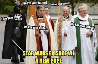 star wars episode VII a new pope