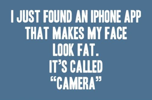 I just found an iphone app funny