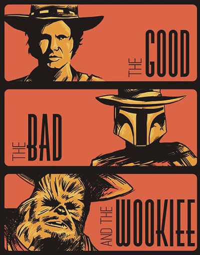 the good the bad and the wookie star wars