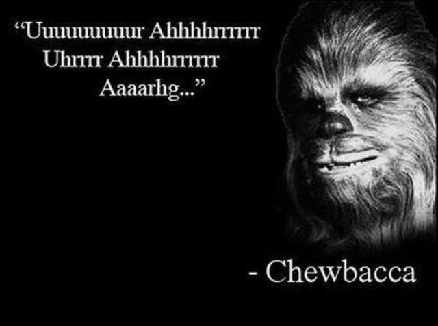 chewbacca quote funny