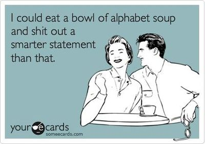 alphabet soup and better statement