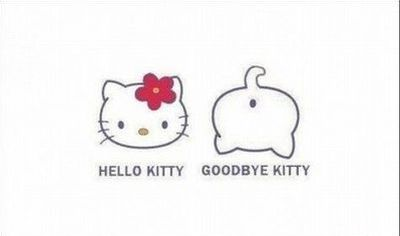 hello kitty goodbye kitty funny