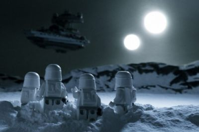 stormtroopers lego two moons art