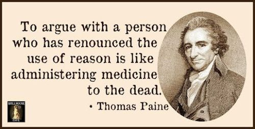 thomas paine reason quote funny