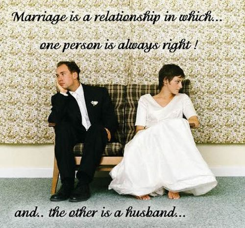 marriage is a relationship in which...
