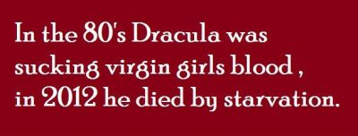 in 2012 dracula dies of starvation