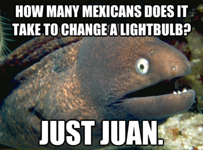 how many mexicans to change a lightbulb