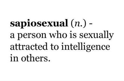 definition of sapiosexual