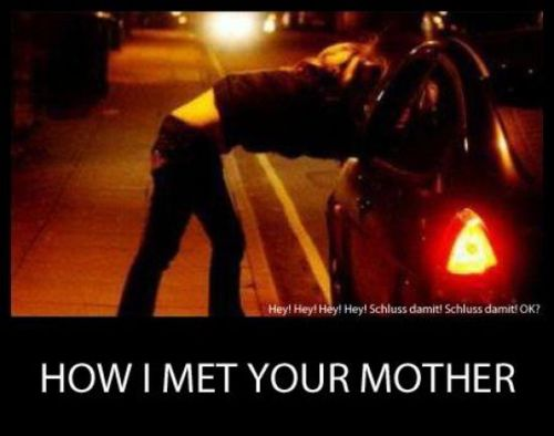 how i met your mother hooker style
