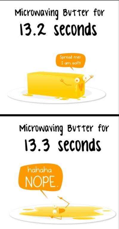 13.2 and 13.3 makes a difference in the microwave