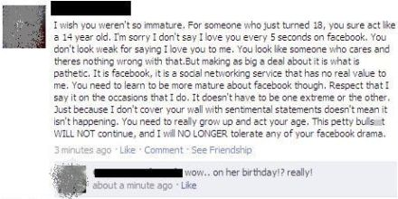 facebook boyfriend fail on birthday