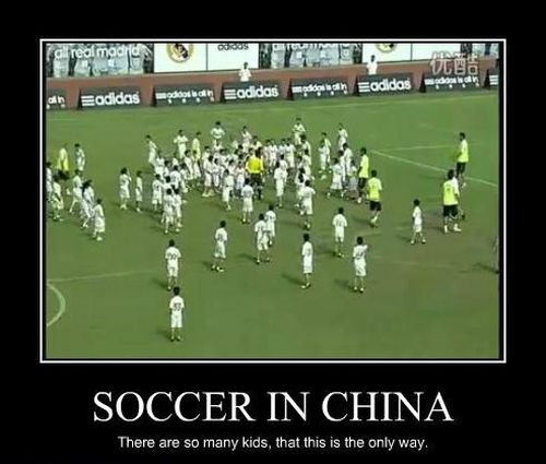 soccer in China they are so many funny