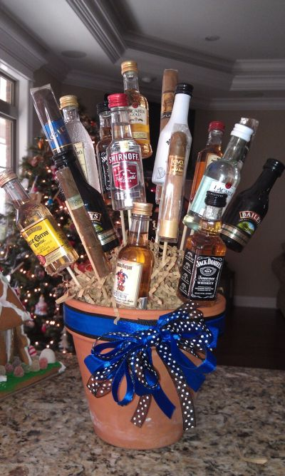 the perfect booze plant gift