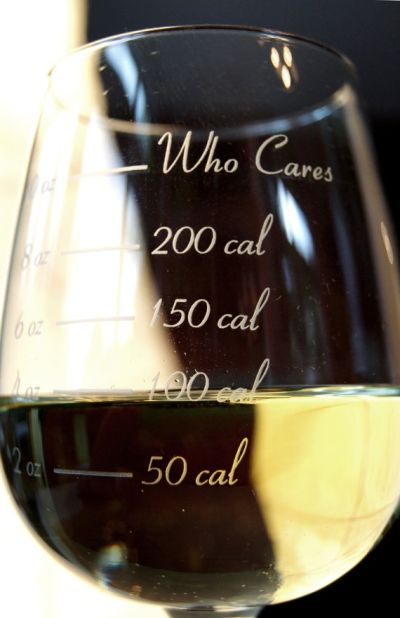 Who cares - glass for counting cal