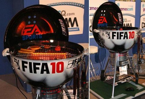 Fifa 2010 barbecue station