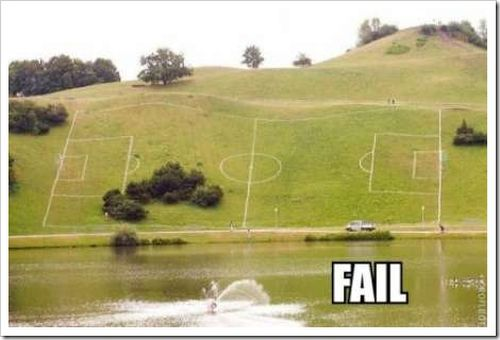 football field epic fail