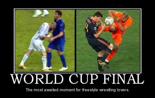 football world cup is for wrestling lovers