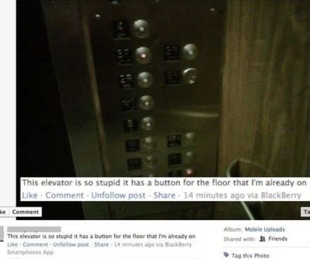 elevator comment fail