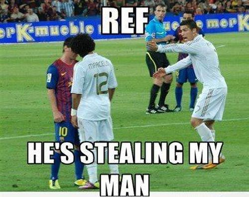 REF he's stealing my man