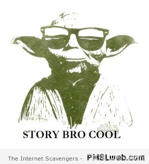 Story cool bro - Tourism on dagobah