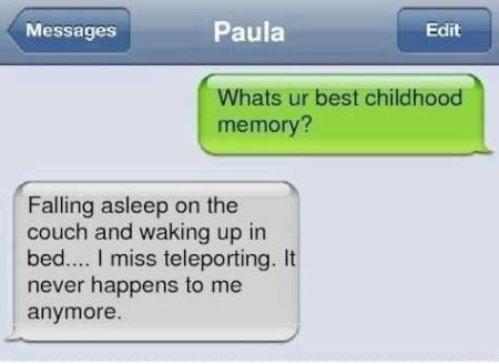 Best childhood memory iPhone funny