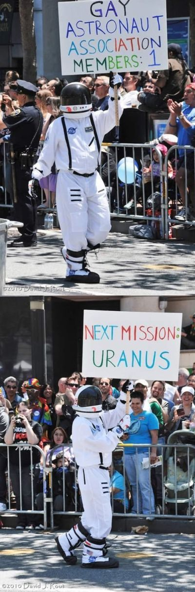 Gay Astronaut Association funny