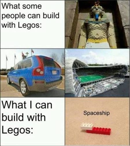 what I can build with legos funny