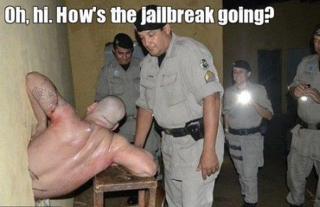 How's jail break going funny