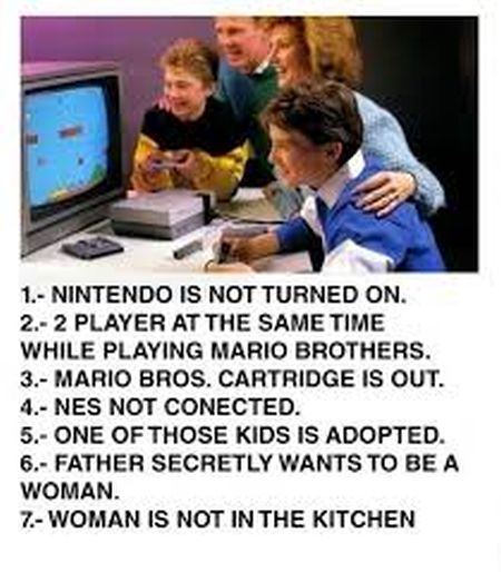 video games spot out the errors funny