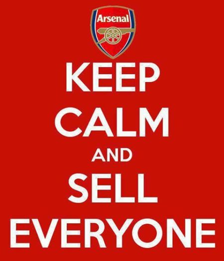 PES -FIFA -Arsenal keep calm and sell everyone