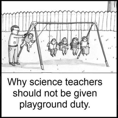 why science teachers should not be given playground duties
