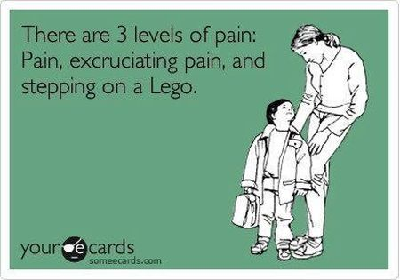 there are 3 levels of pain ecard