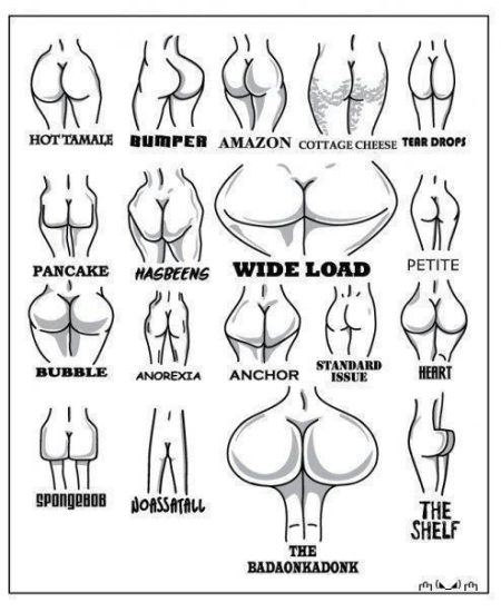 Butt guide funny picture