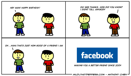 facebook funny cartoon happy birthday