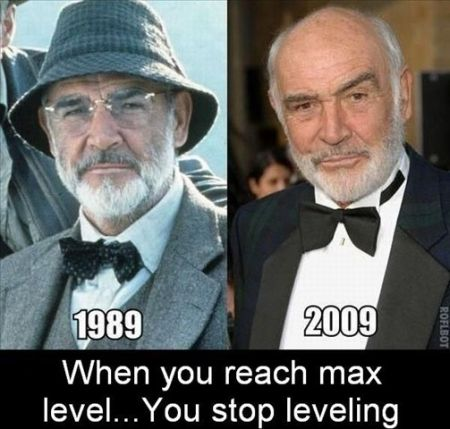 Sean Connery at max level