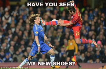 Have you seen my new shoes football funny