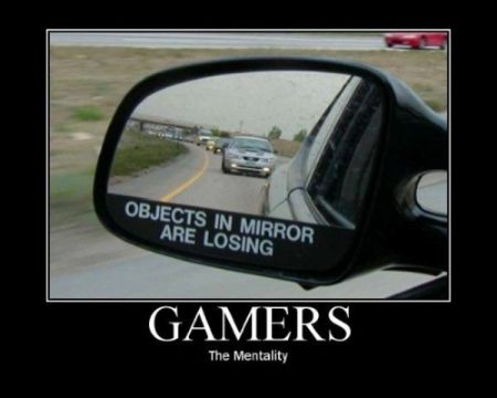 Gamer - their reality funny