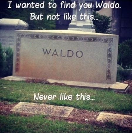 I wanted to find waldo but not like this