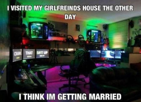 I visited my girfriends house the other day - video game funny
