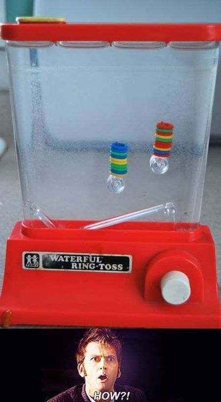waterful ring toss funny