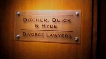 funny divorce lawyers sign