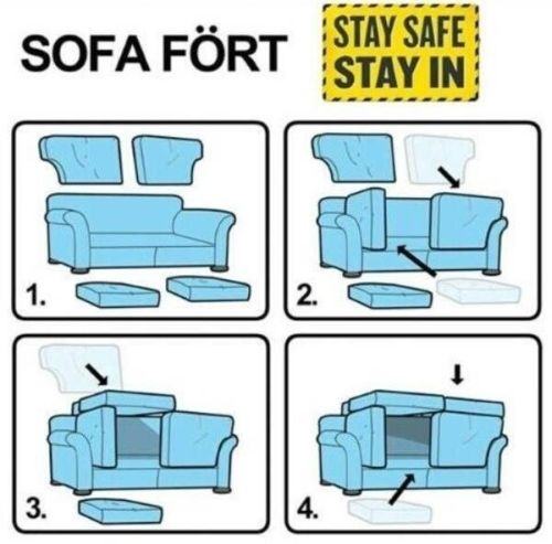 sofa fort ikead style funny