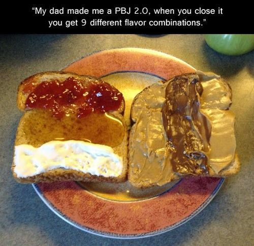 My dad made me a PBJ 2.0