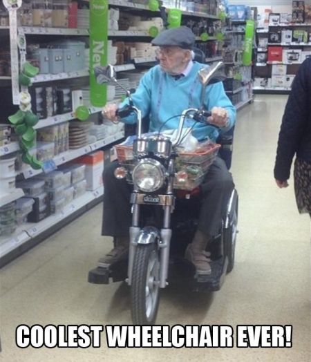 the coolest wheelchair ever
