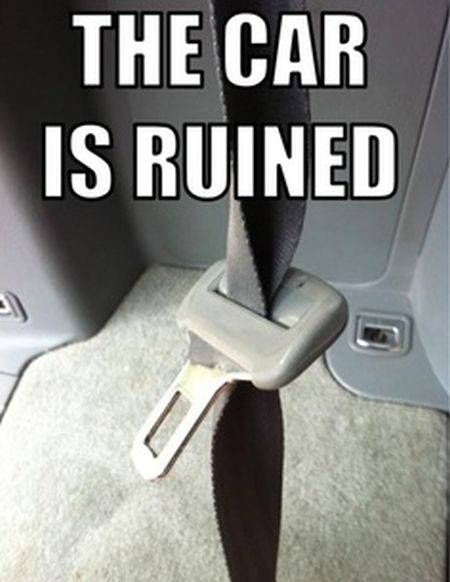 the car is ruined funny