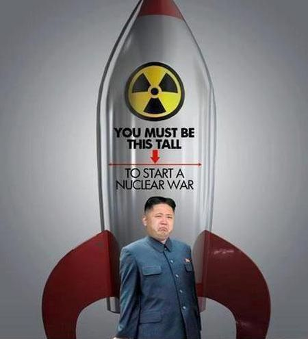 you must be this tall to start a nuclear war