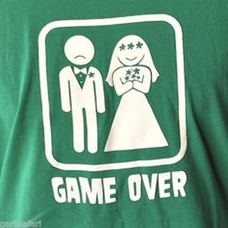 gamer humor game over