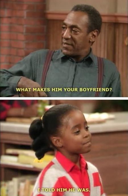 what makes him your boyfriend cosby funny
